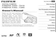 富士FinePix T400数码相机 使用说明书