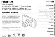 富士FinePix JZ500数码相机 使用说明书