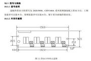 英威腾CHV160A-018-4供水专用变频器说明书