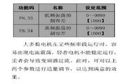 英威腾CHV100-045G-2型高性能矢量变频器说明书