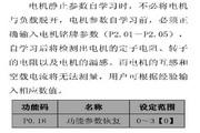 英威腾CHV100-004G-2型高性能矢量变频器说明书
