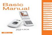 卡西欧 A5512CA手机 使用说明书
