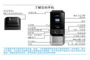 Philip飞利浦 ctx650blk手机 说明书