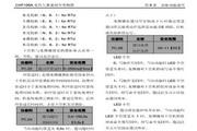 英威腾CHF100A-030G-4型开环矢量变频器说明书