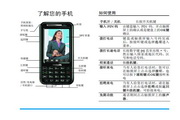 Philip飞利浦 ct0892blk手机 说明书
