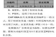 英威腾CHF100A-055G-2型矢量通用型变频器说明书