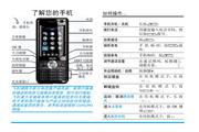 Philip飞利浦 cttm700手机 说明书