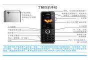 Philip飞利浦 ctw186blk手机 说明书