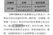 英威腾CHF100A-011G-2型矢量通用型变频器说明书