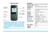 Philip飞利浦 ct0192blk手机 说明书