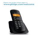 Philip飞利浦dctg1821w电话说明书
