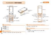 夏普 SH005手机 使用说明书