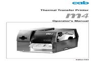 cab M4打印机 使用说明书