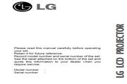 LG RL-JT10影机 英文说明书