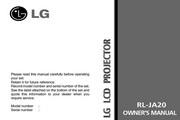 LG RL-JA20影机 英文说明书