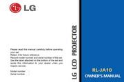 LG RL-JA10影机 英文说明书