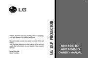 LG AN110W-JD投影机 英文说明书