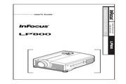 富可视 LP800投影机 英文说明书