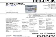 SONY HCD-EP505音响 使用手册