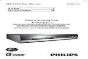 Philips DVDR7310H DVD录影机 使用手册