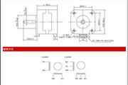 铭朗科技MLM3534A步进电机说明书