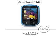 阿尔卡特 OT-708手机 使用说明书