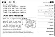 富士FinePix JX370数码相机说明书