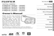 富士FinePix JX390数码相机说明书