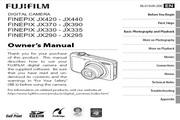 富士FinePix JX330数码相机说明书