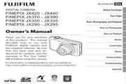 富士FinePix JX335数码相机说明书