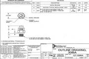 Dytran 3086A3冲击型加速度传感器 产品说明书