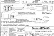 Dytran 3310A高温型加速度传感器 产品说明书