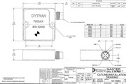 Dytran 7500A3电容(DC)型加速度传感器 产品说明书