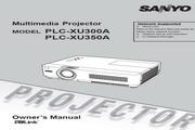 三洋 PLC-XU300A投影机 英文说明书