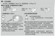 松下XQG70-E70GW洗衣机使用说明书