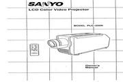 三洋 PLC-200N投影机 英文说明书