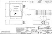 Dytran 7500A5电容(DC)型加速度传感器 产品说明书