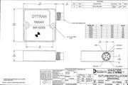 Dytran 7500A6电容(DC)型加速度传感器 产品说明书