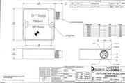 Dytran 7500A7电容(DC)型加速度传感器 产品说明书