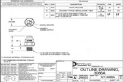 Dytran 3086A1冲击型加速度传感器 产品说明书