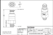 Dytran 2005v压电式压力传感器-IEPE型 产品说明书