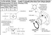 Futek TDF400反作用力型(静态)扭矩传感器产品 说明书