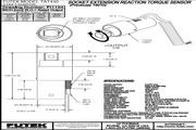 Futek TAT430反作用力型(静态)扭矩传感器 产品说明书