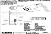 Futek TAT410反作用力型(静态)扭矩传感器 产品说明书