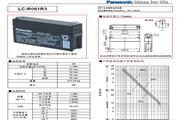 松下 LC-R061R3用于主电源和备用电源说明书