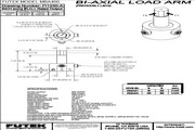 Futek MBA400二轴力传感器 产品说明书