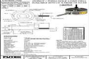 Futek LTH400应变式力传感器 产品说明书