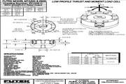 Futek MTA500单轴力/双轴扭矩传感器 产品说明书