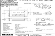 Futek LAU300安全带测力传感器 产品说明书