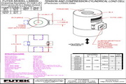 Futek LSB600应变式力传感器 产品说明书